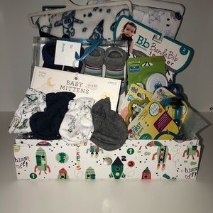 Super cute and huge Baby boy gift box